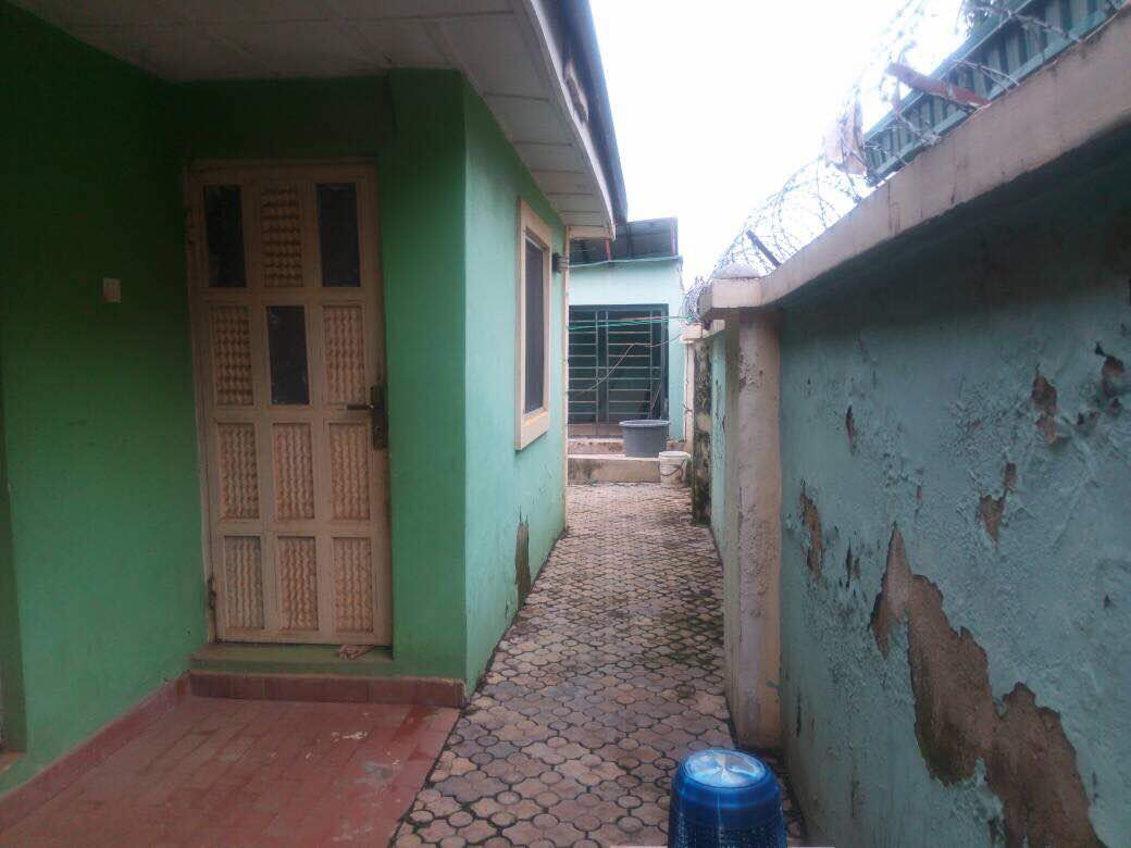 SALES! SALES!! SALES!!!. The property comprise 4 Bedroom Bungalow with BQ, Security post and Gen House.