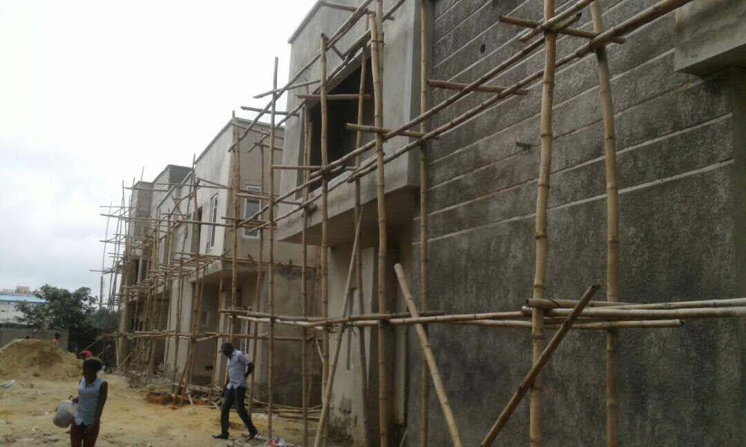 4/5 Bedroom fully and Semi detached duplexes for Sale at Mini Estate Opposite Manor Estate area