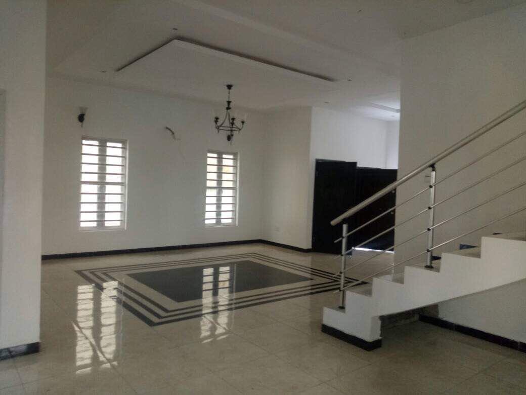 Brand new and nicely finished 4 bedroom Detached house with en suite boys quarters.