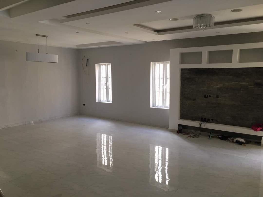 A brand new 5 bedroom semi detached duplex with BQ at Lekki County estate Ikota