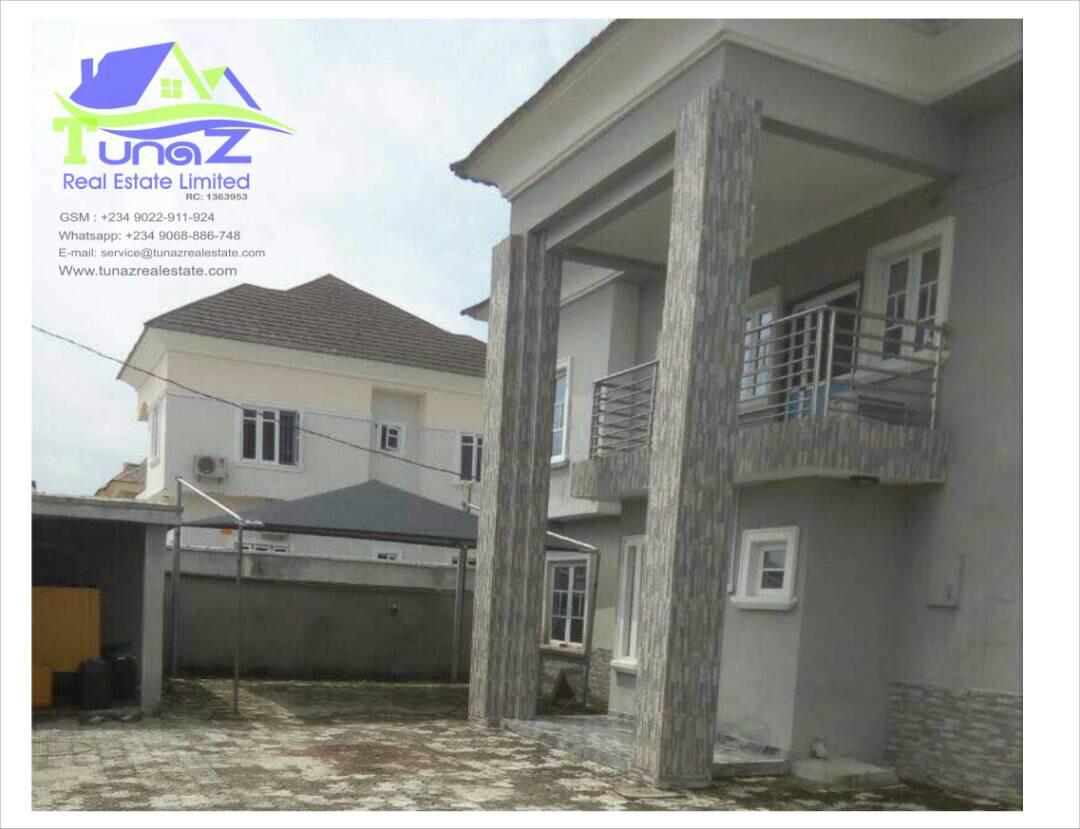 A 4 Bedroom Duplex With BQ At Mobile Estate Ajah For Sale