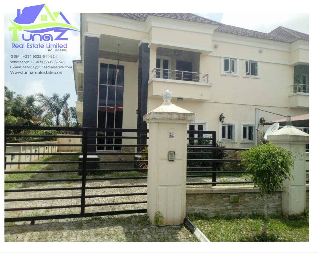 A Variety Of 4 Bedroom Duplexes In Crown Estate For Sale
