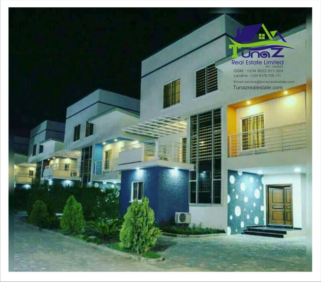 A 5 Bedroom Semi Detached Duplex With BQ Sitting On 4046 Sqm In Ikeja GRA Is For Sale