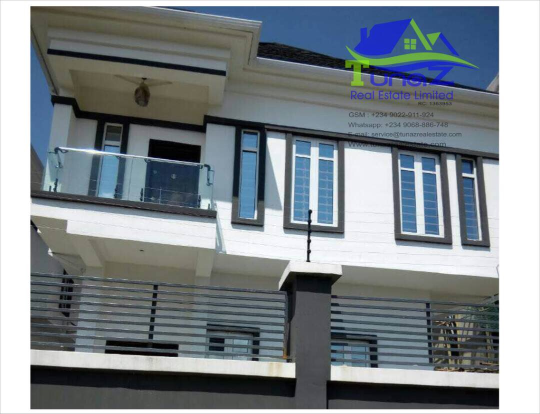 4 Bedroom Tastefully Finish Duplex With A BQ At Osapa London For Sale