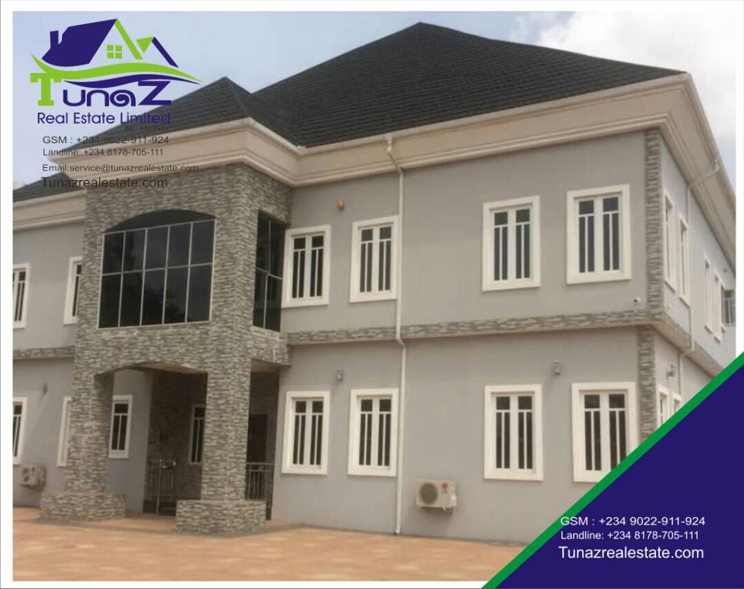 A 5 Bedroom Fully Detached Duplex Sitting On 1000 Sqm Of Land For Sale Ikeja GRA