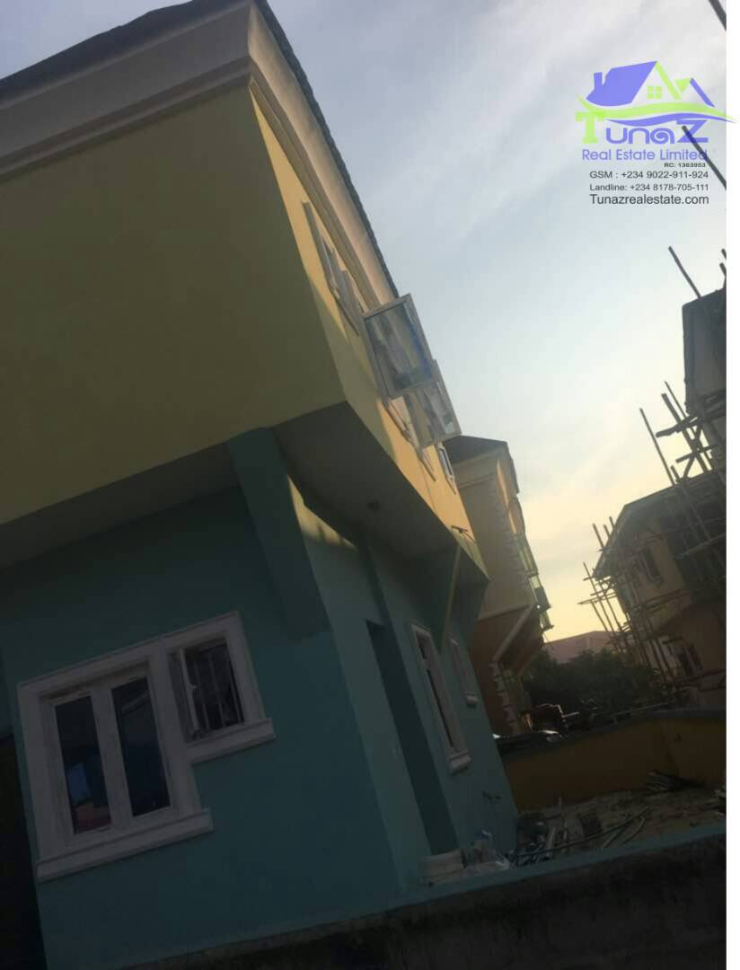 Fully detached 4 bedroom duplex on a half plot of land is For Sale