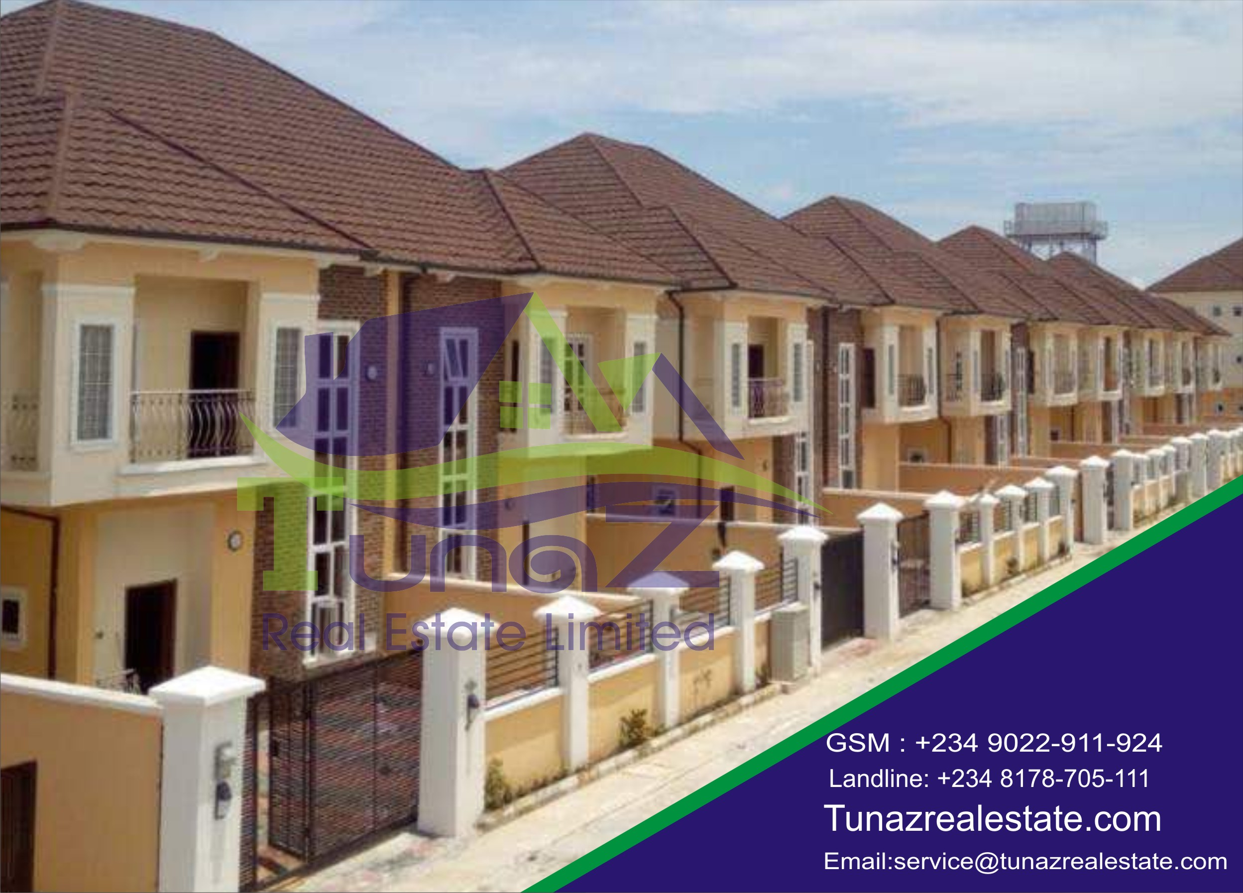 Estate Comprises Of 5 Bedroom, 4 Bedroom And 2 Bedroom Duplexes With All Rooms Ensuite For Sale