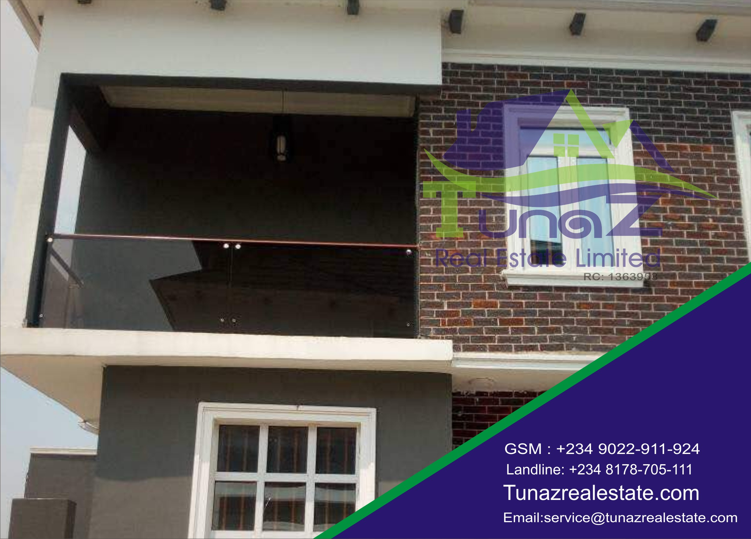 A Beautifully Well Finished 5 Bedroom Fully Detached Duplex With A BQ And A Swimming Pool For Sale