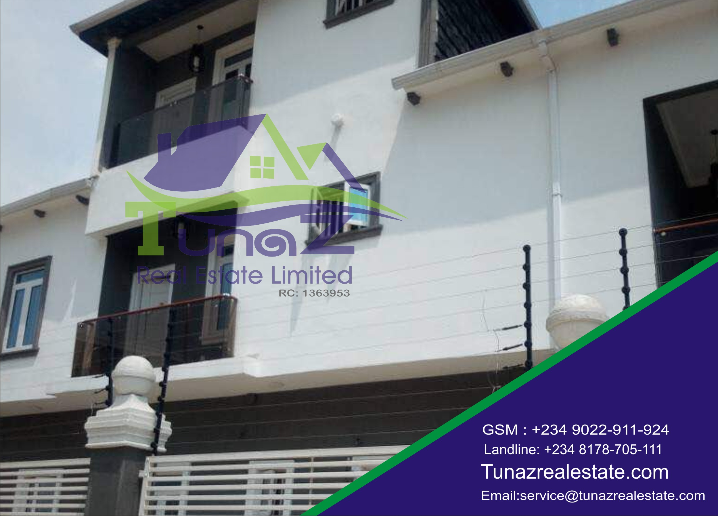 A Beautiful Well Finished 5 Bedroom Fully Detached Duplex For Sale
