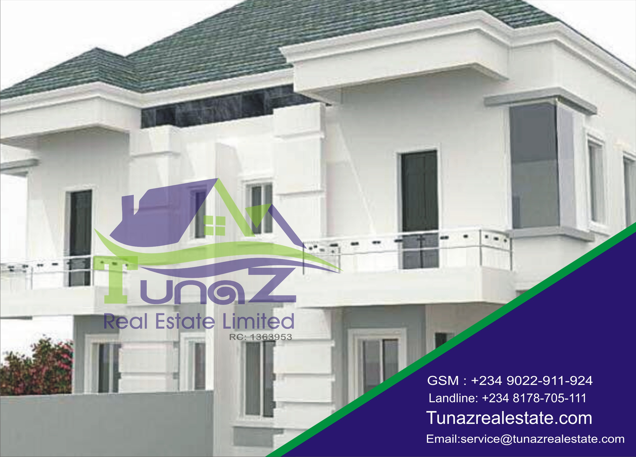 A Brand New 4 Bedroom Semi Detached With A Big Parking Space For Sale