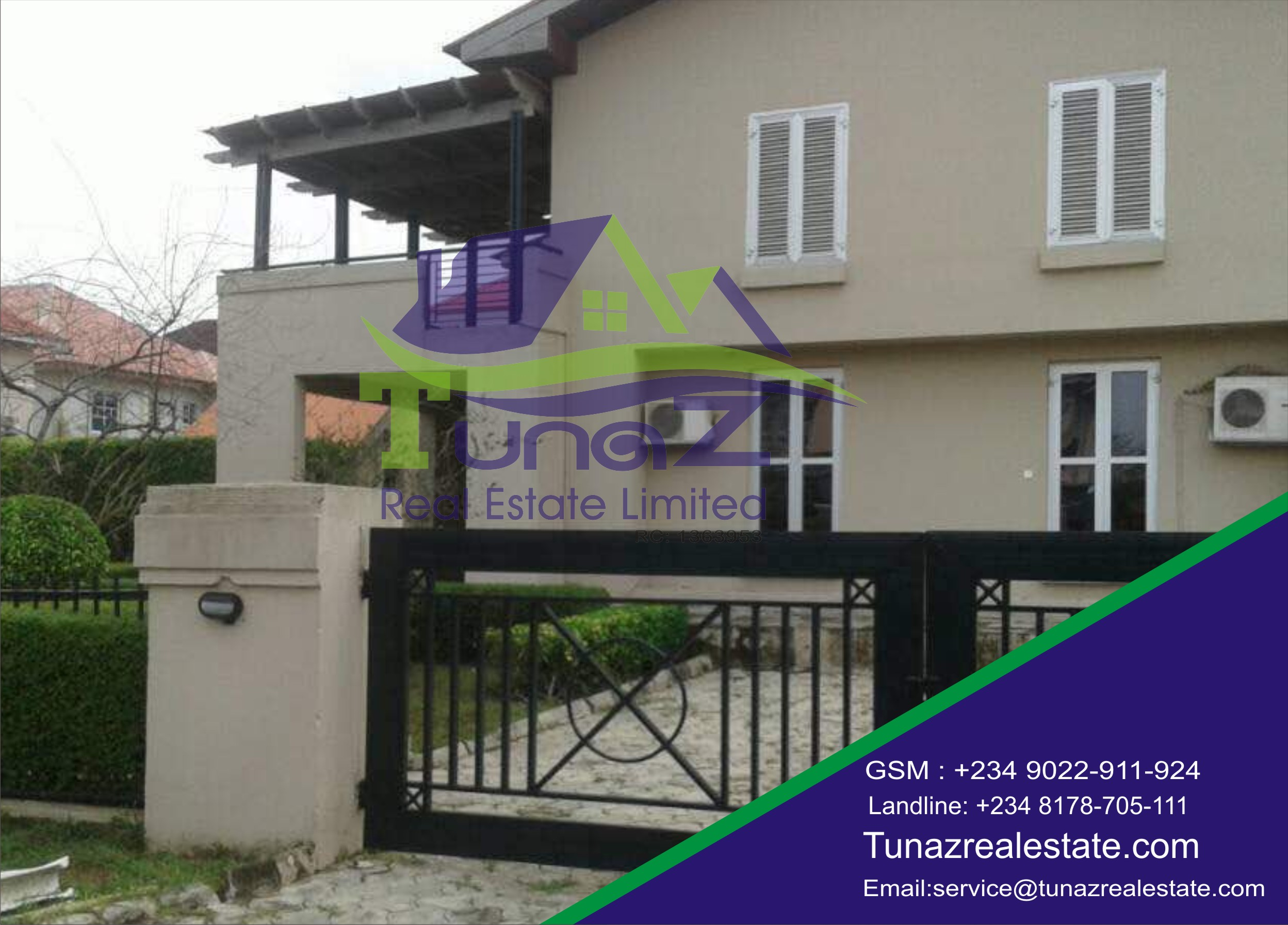 A 3 Massive Bedroom Duplex With A Large Compound For Sale