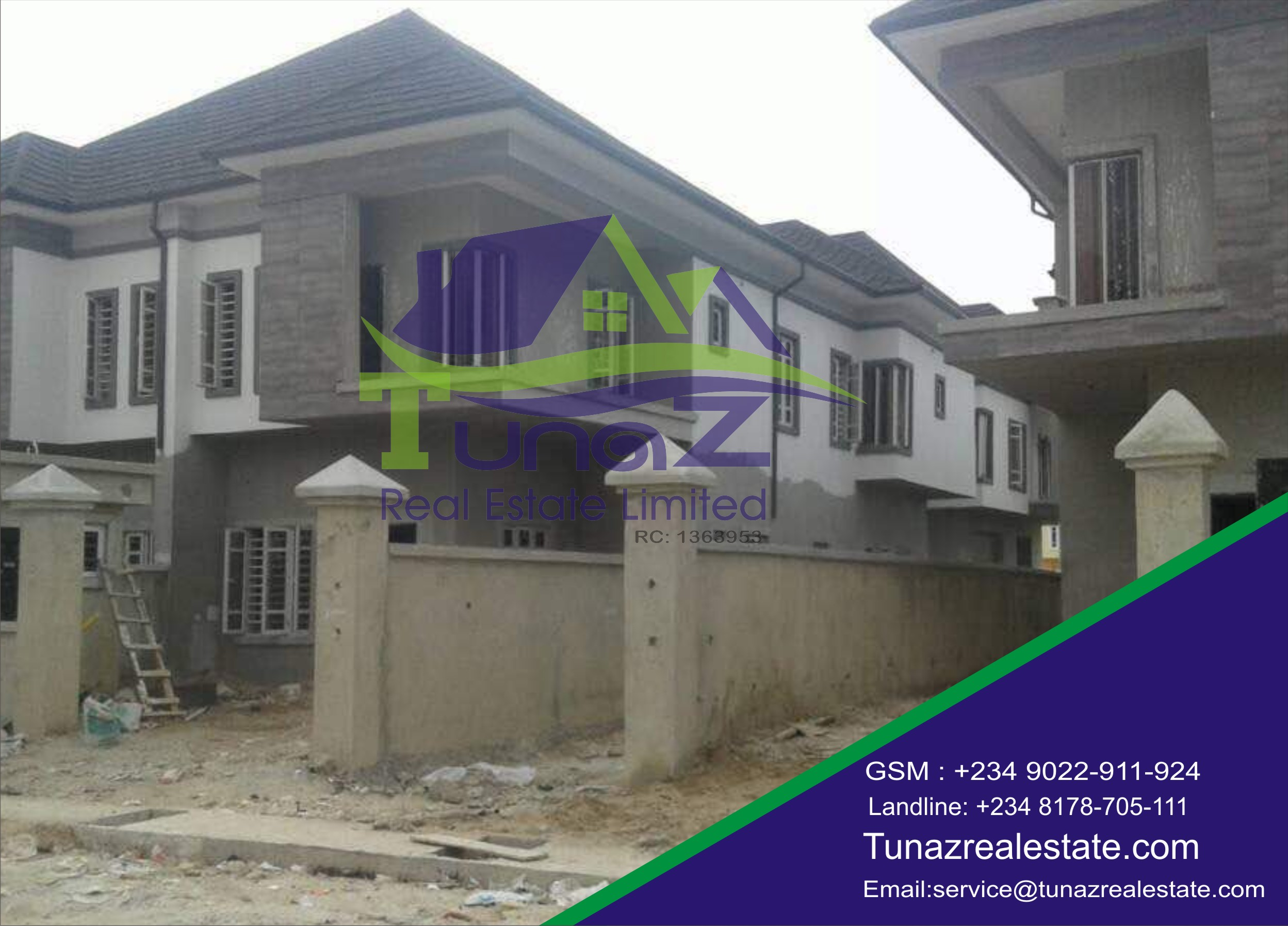 6 Units Of 4 Bedroom Buplex And 3 Units 5 Bedroom Duplexes For Sale