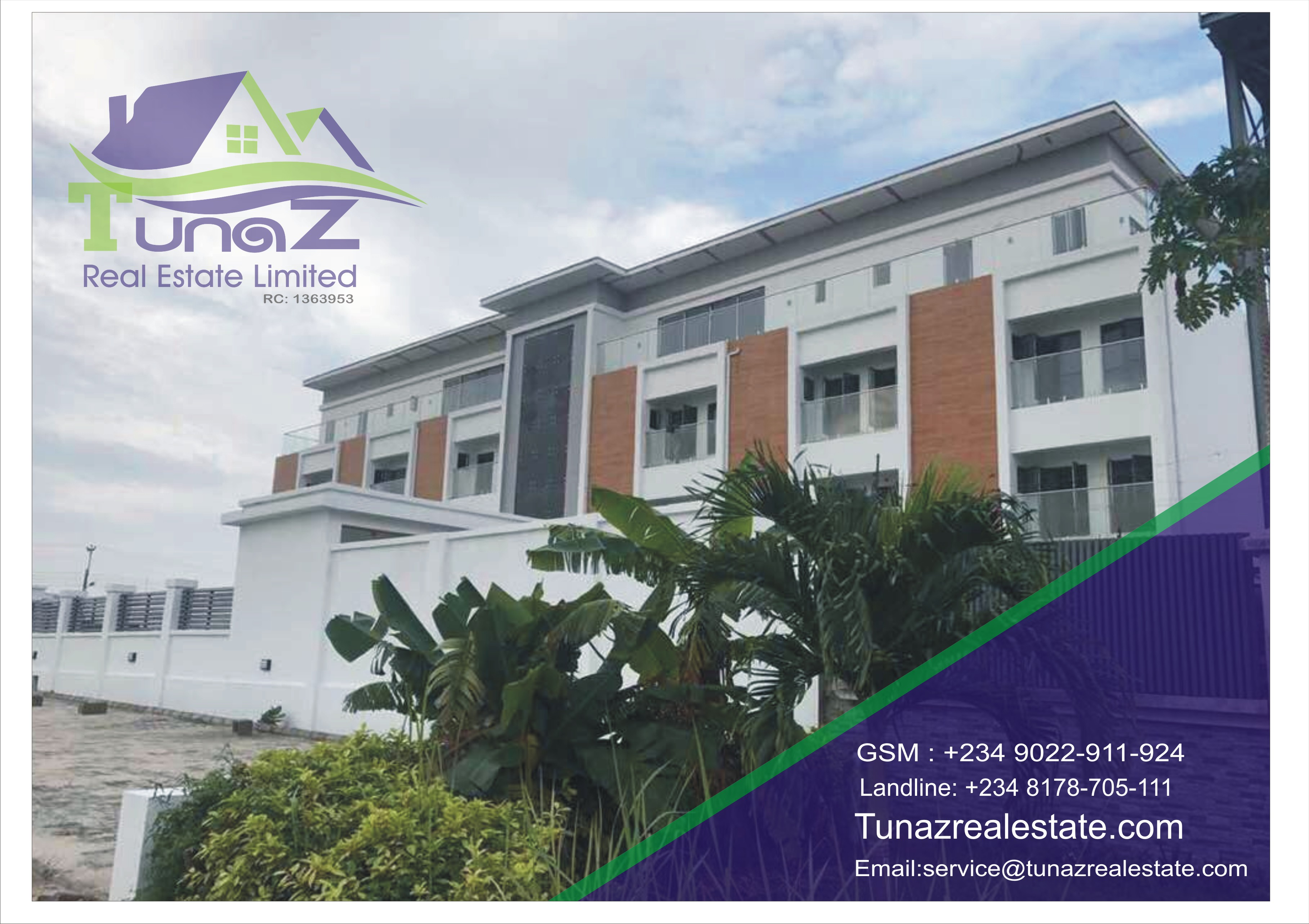6 Units Of A 4 Bedroom Terrace Duplex – Which Is Set On 3 Floors For Sale
