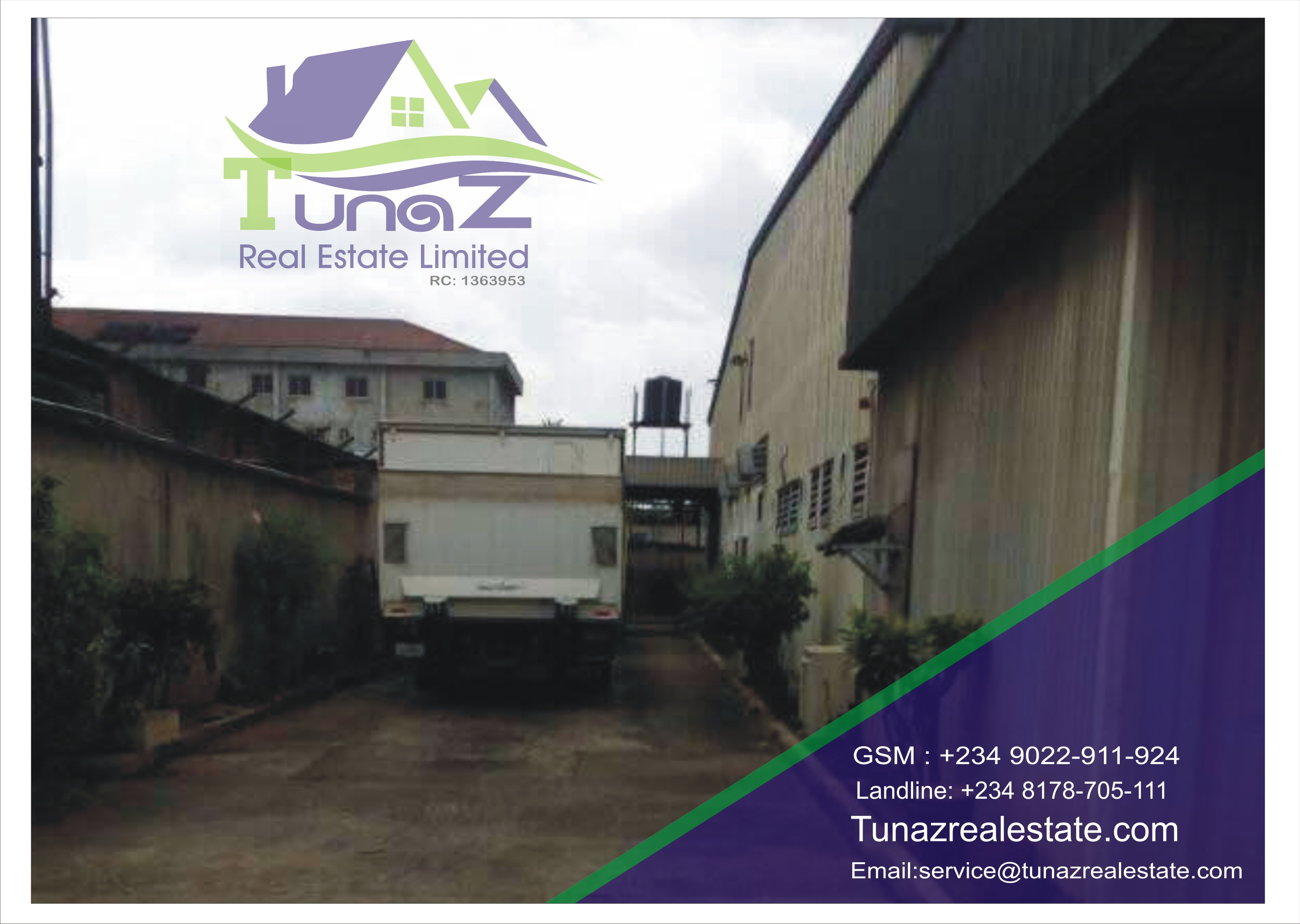 Existing Lace Production Factory + All The Machineries Functional On Over 1 Acre Of Land for Sale