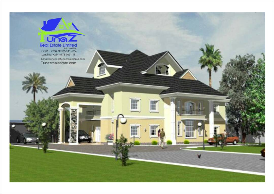 A 5 Bedroom duplex with a large Penthouse in Serene environs For Sale